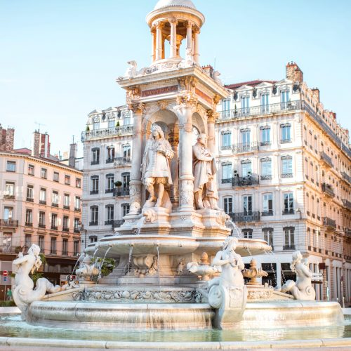 Fontaine de la place des Jacobins, Lyon